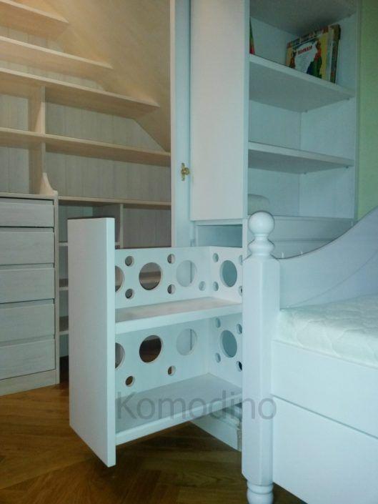 Маленькі гардеробні кімнати для дитячої