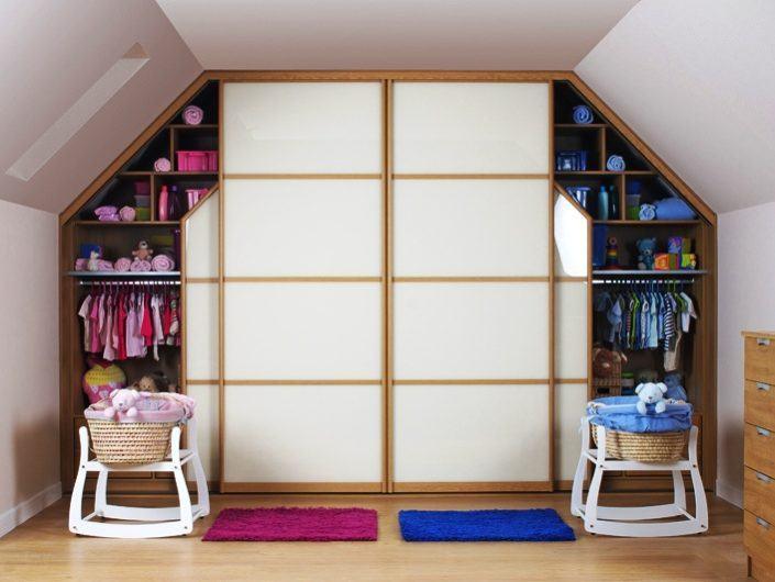 Маленькі гардеробні кімнати