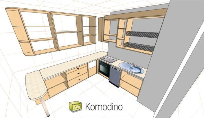 Кухня глянцева МДФ Львів