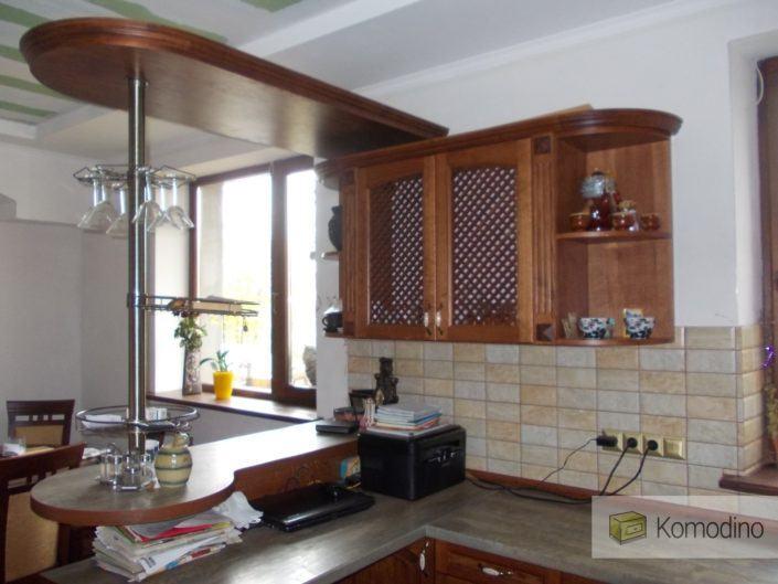 Кухня з натурального дерева на замовлення Львів