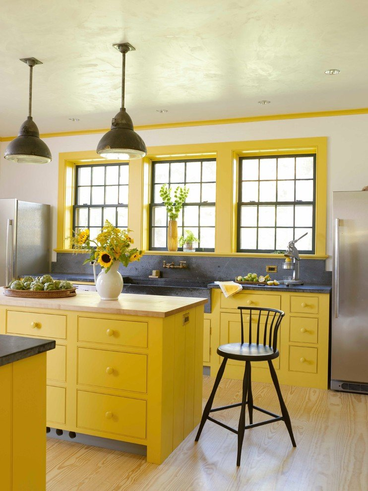 Жовта кухня на замовлення