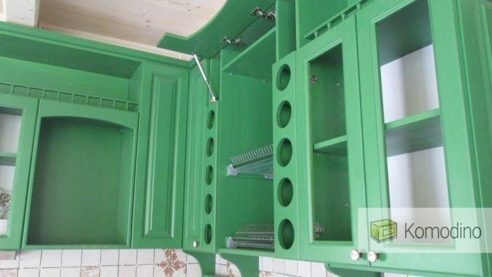 Купити дерев'яну кухню Львів