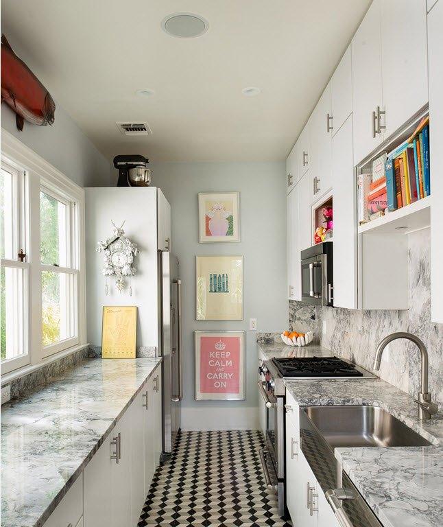 Дизайн-проект маленької кухні
