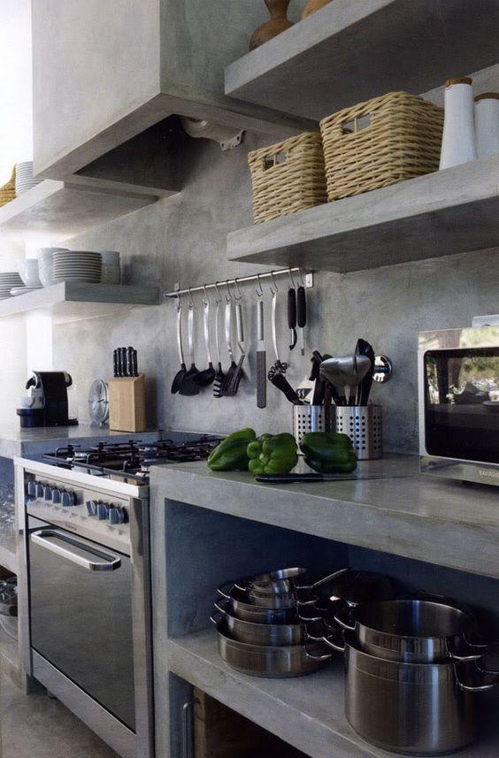 Дизайн кухні в стилі лофт