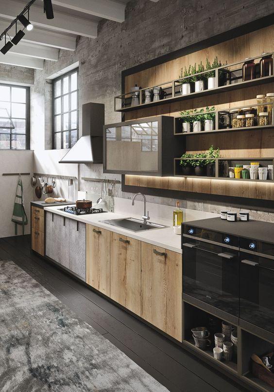 Кухні в стилі лофт на замовлення