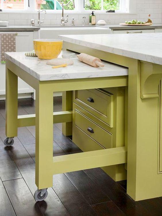 Висувні столи для маленької кухні