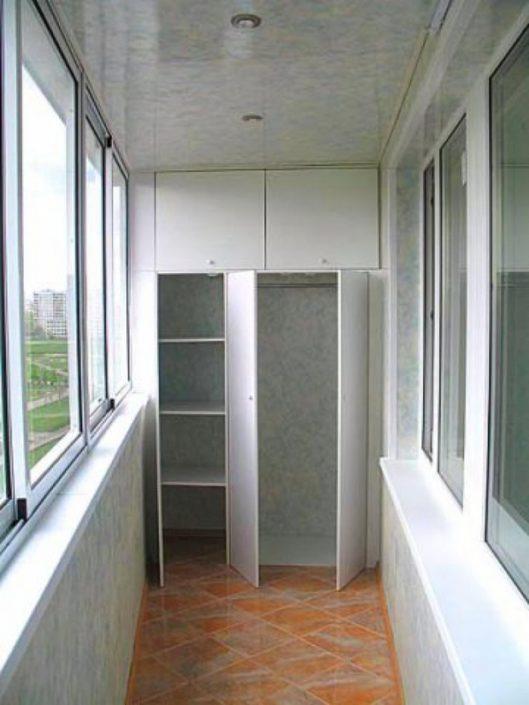 Шафа для балкону на замовлення Львів