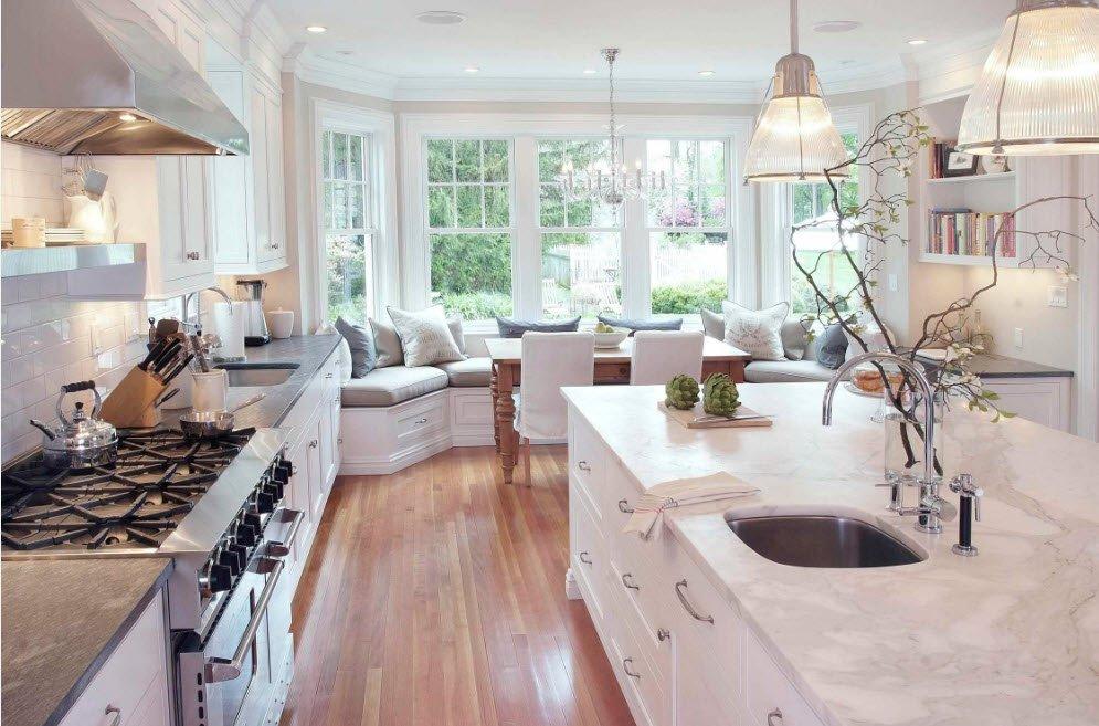 Стільниці з дерева для кухні