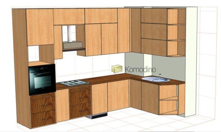 Komodino проект кухні