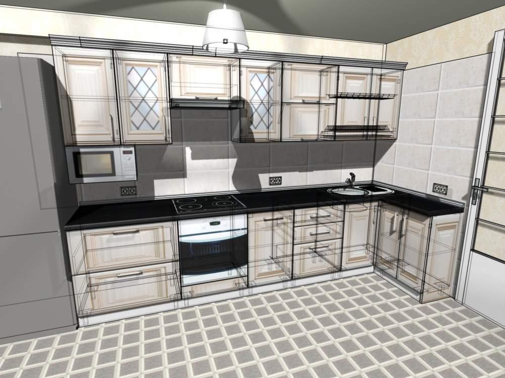 Дизайн макет кухні