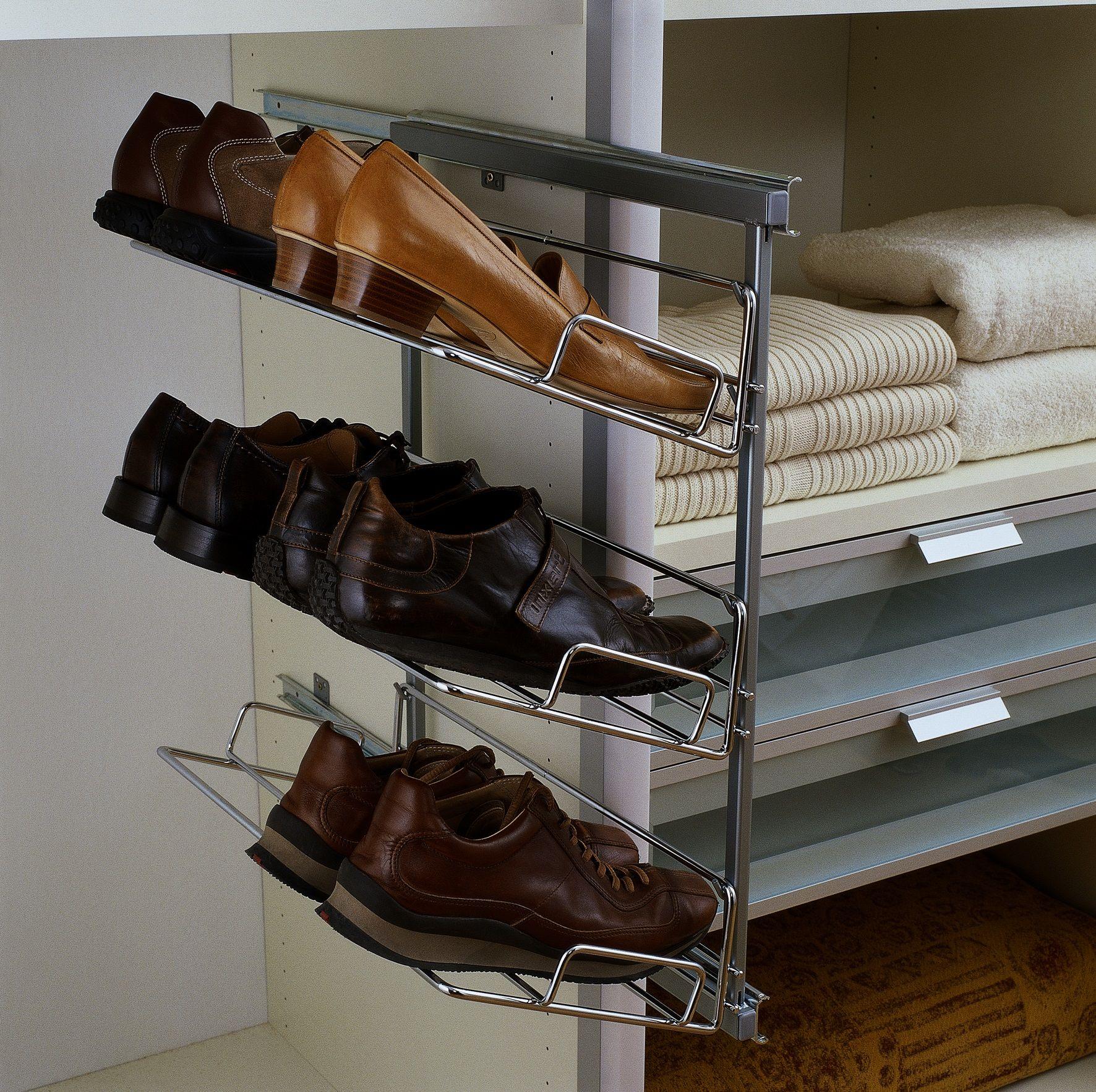 Висувні полки для взуття