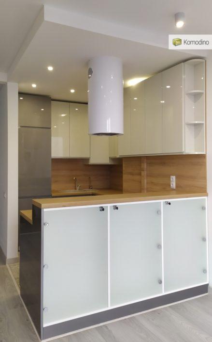 Кухня без ручок на замовлення Львів