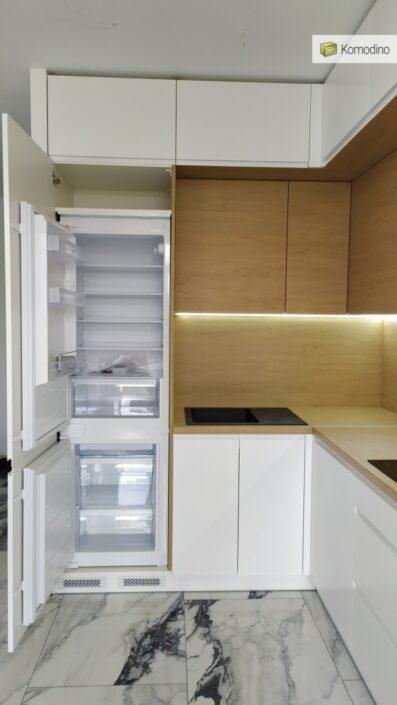 МДФ кухня без ручок
